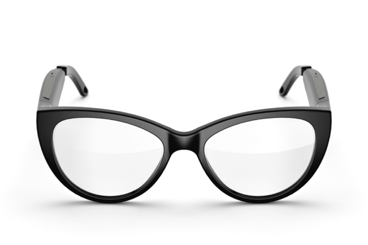 Fauna audio glasses music glasses Bluetooth glasses - model Levia Black