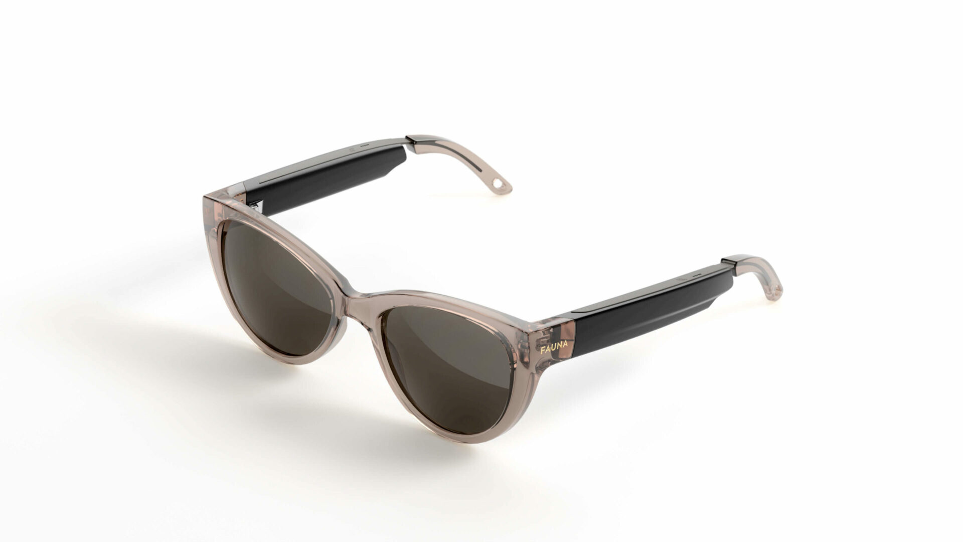 Fauna Fabula Crystal Brown music sunglasses