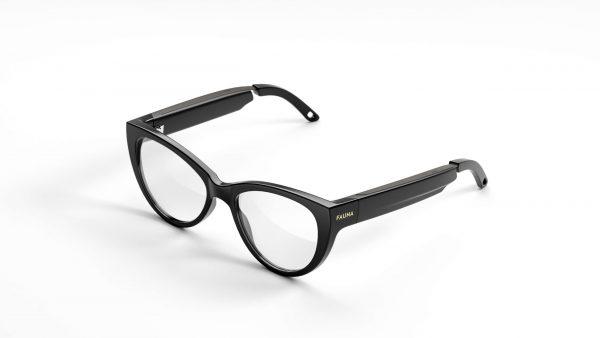 Fauna Levia Black audio glasses