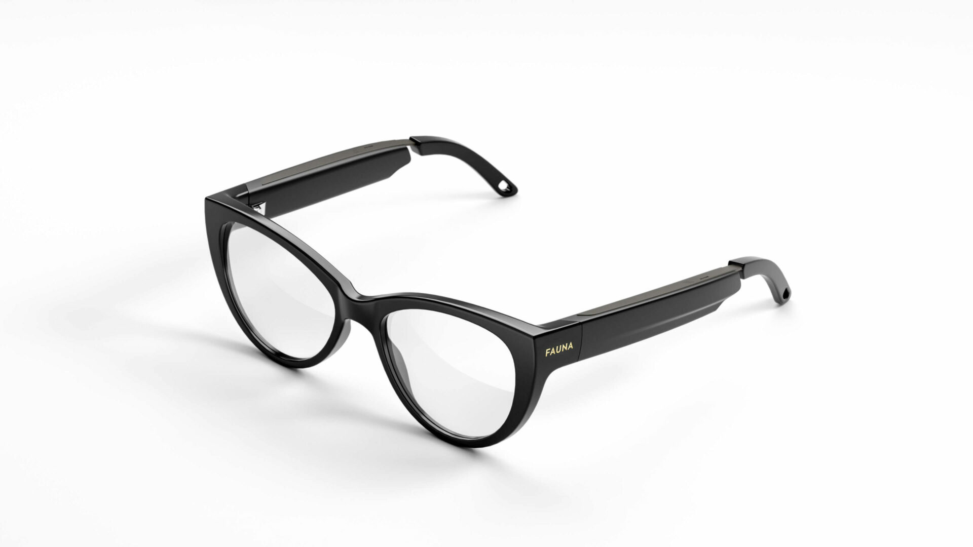 Fauna Levia Black audio glasses