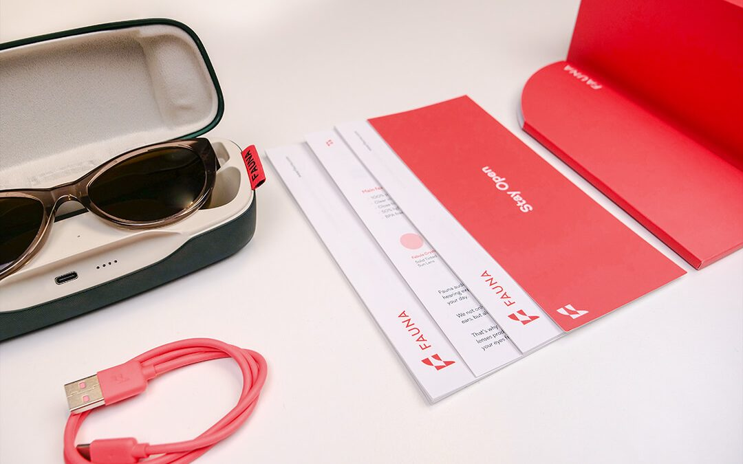Fauna Music Glasses unboxing and unpacking