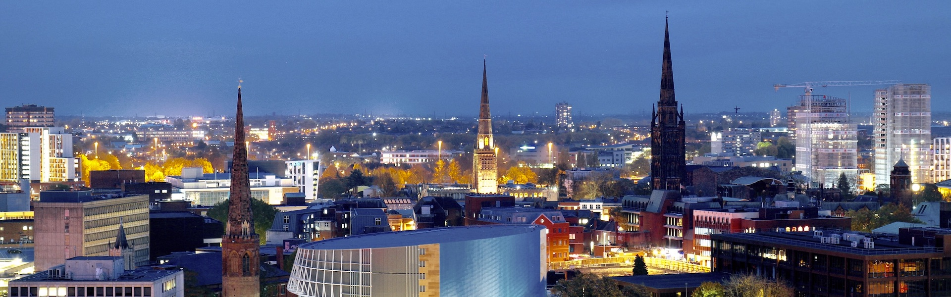 Coventry City Centre from One Friargate